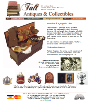 Talt Antique's website (Conover, NC)